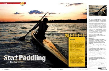 Paddling with Martin Dreyer - Dabulamanzi Canoe Club