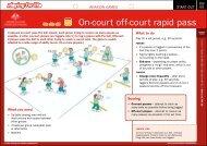 On-court off-court rapid pass - Australian Sports Commission