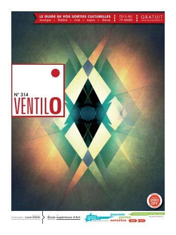 Ventilo n° 314 du 6 au 19 mars 2013