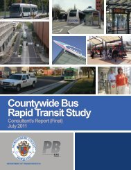 Countywide Bus Rapid Transit Study - Montgomery County, Maryland