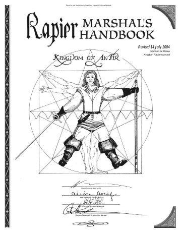 Handbook pdf marshals deadlands