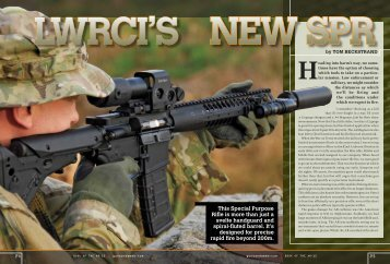 This Special Purpose Rifle is more than just a svelte handguard and ...