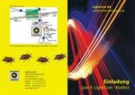 Einladung - Lightcom AG