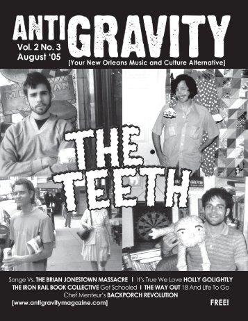 January 2005 (PDF) - Antigravity Magazine