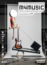 programm m4m 13 (PDF/D) - M4Music