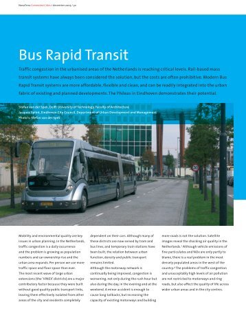 Bus Rapid Transit - International Federation of Pedestrians