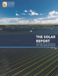2012 Annual Report - The GW Solar Institute - George Washington ...