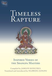 Timeless Rapture: Inspired Verse from the Shangpa Masters