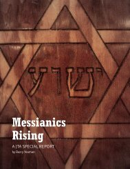 Messianics Rising - Barry Yeoman
