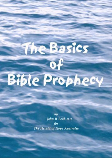 The Basics of Bible - Herald of Hope