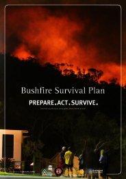 Prepare a Bushfire Survival Plan - Rural Fire Service