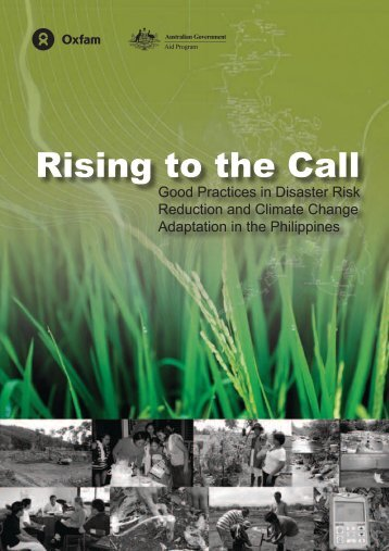 Rising to the Call: Good Practices in Disaster - AusAID