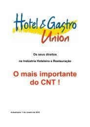 Fortaleça a Hotel & Gastro Union! Assim melhora o CNT!