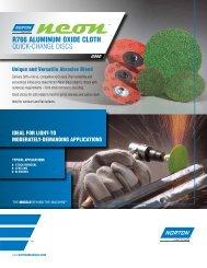 Discs - Quick Change - Neon R766 - Flyer 8361 - Norton Industrial ...