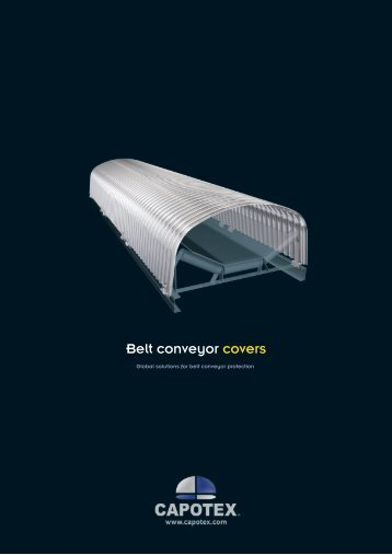 Belt conveyor covers - Capotex