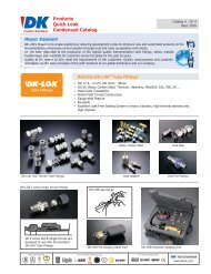 Products Quick Look Condensed Catalog - Durable Controls