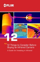 12 Things to Consider Before Buying an Infrared Camera