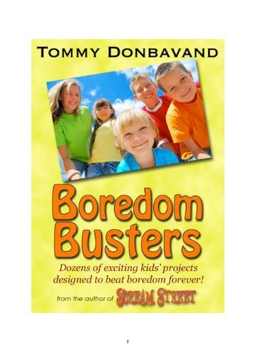 Boredom Busters - Tommy Donbavand