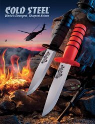 VoyAger® SerieS - Cold Steel