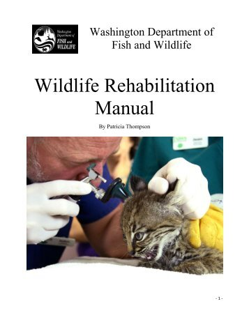 Revision tuesday july 02 for Department of fish and wildlife washington