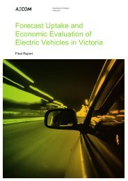 Forecast uptake and economic evaluation of electric vehicles in ...
