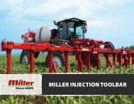 MILLER INJECTION TOOLBAR - Miller STN