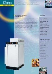Prospekt Kolbenkompressor TOC - HAUG Kompressoren AG
