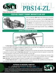 clip-on night vision monocular kit - General Starlight Co., Inc.