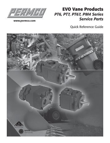 Quick Parts Reference Guide - Permco