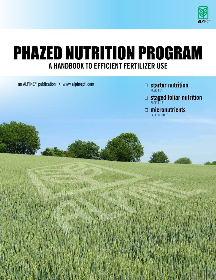 efficient use of fertilizers Nitrate fertilizer optimizing yield mineral fertilizers are key to an efficient use of arable land they help to assure food security on a global scale.
