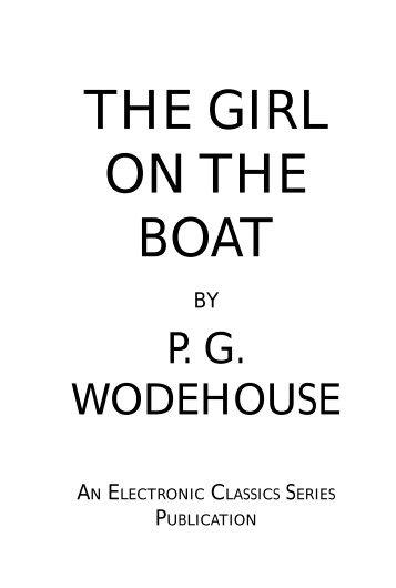The Girl on the Boat - Penn State University