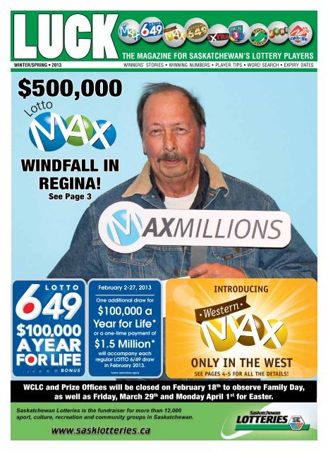 West Canada Lottery
