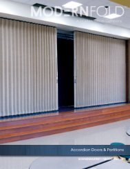 Accordion Doors & Partitions - Modernfold, Inc.