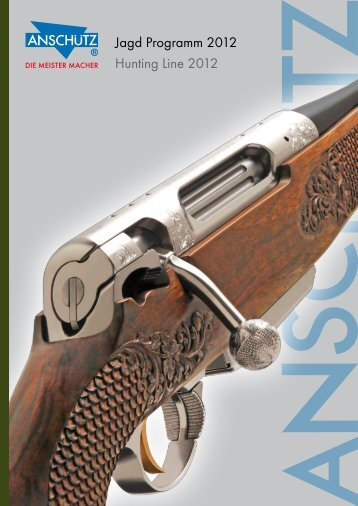 Anschutz 2012 Sport Rifle Catalog - ShootersCatalogue.com