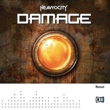 Damage Manual English - Native Instruments