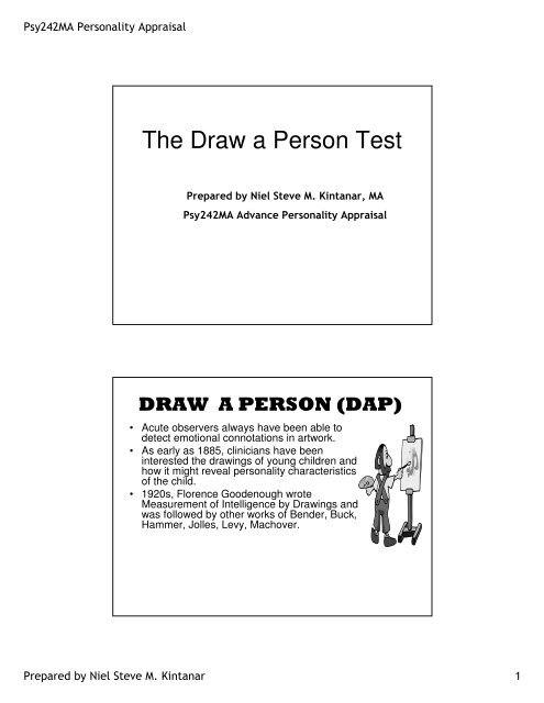 how to interpret drawings psychology