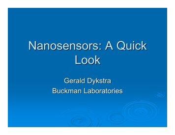 Nanosensors: A Quick Look - Tappi