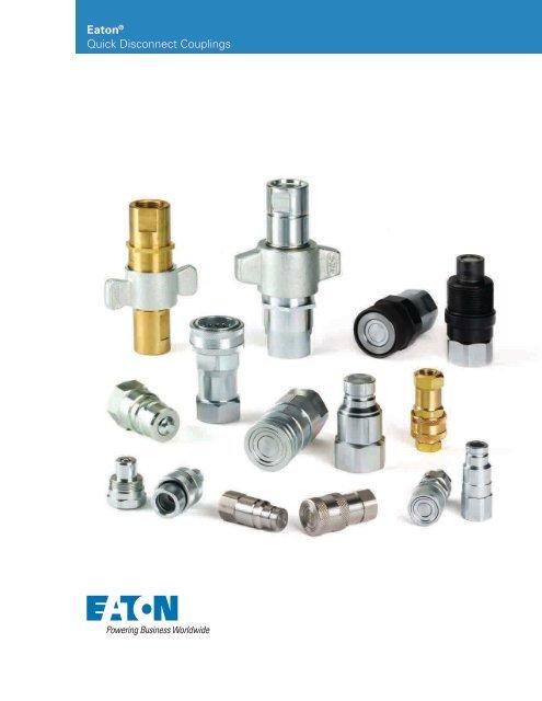 1//2-14 NPTF Male Eaton Hansen 2L25 Steel Ring Lock Quick Connect Pneumatic Fitting Plug 1//4 Body 1//2 Port Size