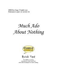 Much Ado About Nothing - Classical Comics