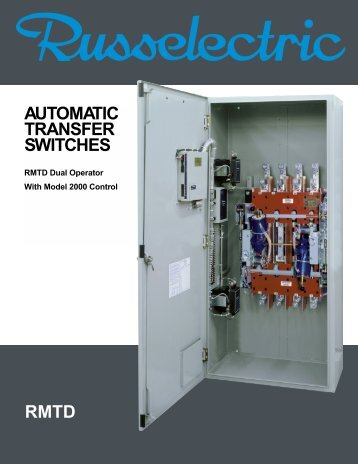 AUTOMATIC TRANSFER SWITCHES RMTD - Core Power, Inc.