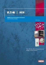Eaton MEM Circuit Protection & Control Switch