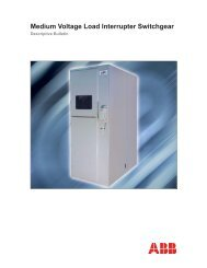 Medium Voltage Load Interrupter Switchgear - Tdproducts.com