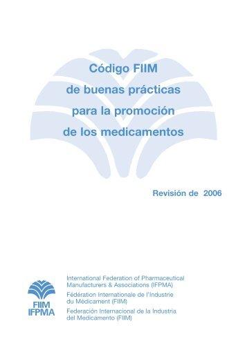 Código FIIM de buenas prácticas para la promoción de los medicamentos