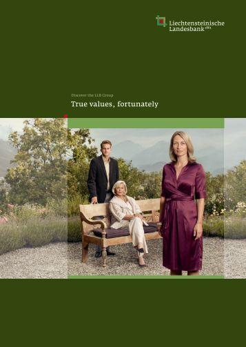 Liechtensteinische Landesbank company brochure [PDF, 5.4 MB]