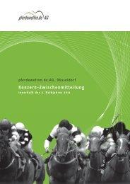 Konzern-Zwischenmitteilung 2/2011 - pferdewetten.de AG