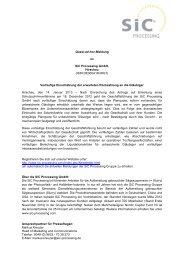 Quasi-ad hoc SiC Processing Jan 14