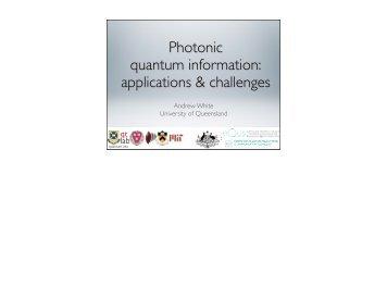 Presentation - NASA Quantum Future Technologies Conference