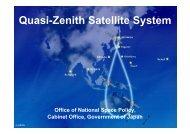 QZSS Overview Quasi-Zenith Satellite System