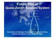 Future Plan of Quasi-Zenith Satellite System