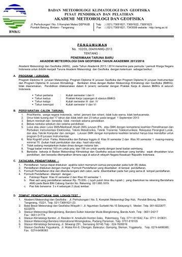 Dokumen_PENERIMAAN_TARUNA_BARU_AKADEMI_METEOROLOGI_DAN_GEOFISIKA_TAHUN_AKADEMIK_2013-2014
